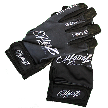 Haterz Batting Gloves (Black)