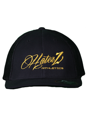 Classic Haterz Hat (Black/Gold)