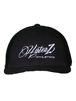 Classic Haterz Hat (Black/White)