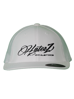 Classic Haterz Hat (White/Black)