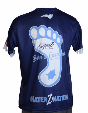 "Full Sublimation Haterz ""Born in Carolina"" Short Sleeve"