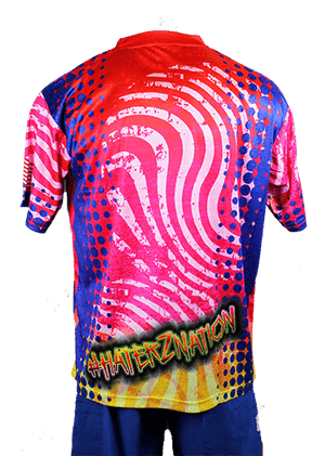 * LIMITED EDITION *  Haterz Athletics Bubble Gum Jersey