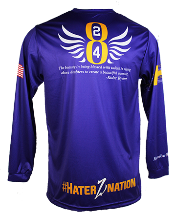 HaterZ Athletics Kobe Bryant Memorial Jersey