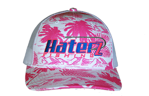 HaterZ Fishing Palm Tree Pink/Royal
