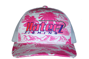 HaterZ Fishing Palm Tree Pink/Purple