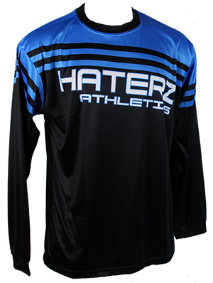 HaterZ Rep The Nation Blue LS