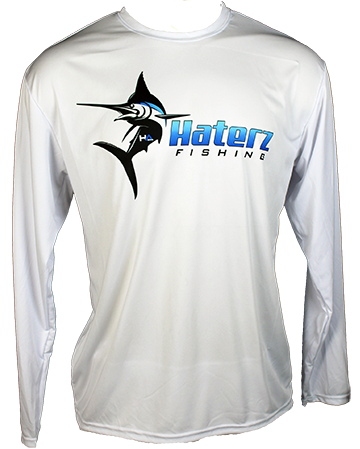 HaterZ Fishing Saltwater Shirt- LS