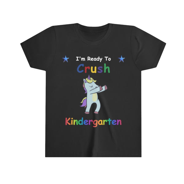 Dabbing Unicorn I'm Ready to Crush Kindergarten Back to School TShirt