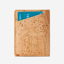 Load image into Gallery viewer, Portefeuille en liège pour homme - SLIM CORK - Porte-cartes