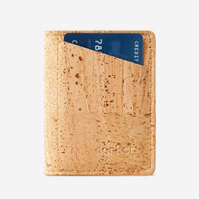 Load image into Gallery viewer, Portefeuille en liège pour homme - SLIM CORK - Light Brown - Porte-cartes
