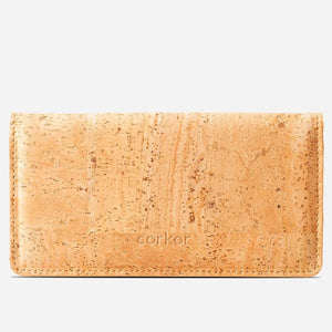 Portefeuille en liège Ultraslim pour Femme - Light Brown - Wallets