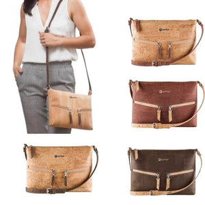 Sac à main | Crossbody en liège naturel - CORKY (4 modèles) - Sac à main Cross-Body