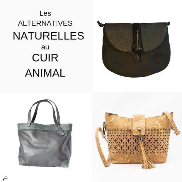Les alternatives naturelles au cuir animal