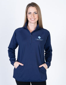 Girls Sportec 1/4 Zip Pullover