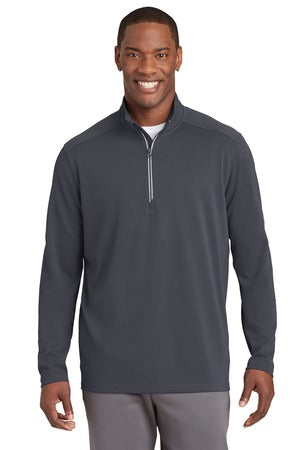 Boys BLACK Senior Class 1/4 zip Pullover with Logo