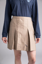 Load image into Gallery viewer, Khaki Girls Skirt with Pallotti School Logo
