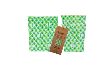 Lunch Bags - Reusable Beeswax Wrap Bags