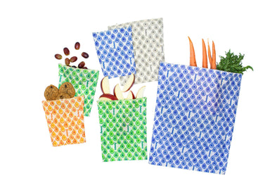 Family Pack - Reusable Beeswax Food Bags