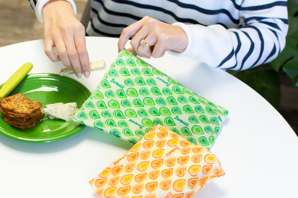 Lunch Pack - Beeswax Wrap Bags