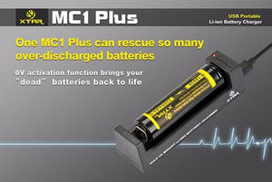 XTAR ANT MC1 PLUS BATTERY CHARGER