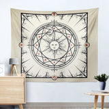 Alchemy Mysterious Sun Tapestry Piece