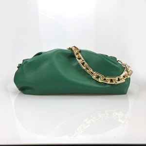 Chain Pouch - Calfskin Leather