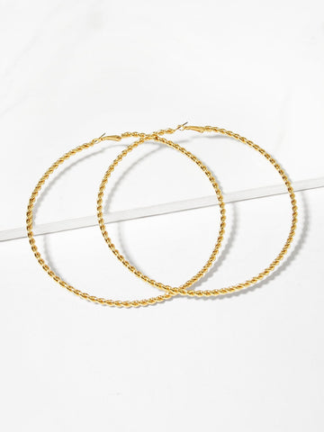 Jazmine Hoop Earrings - CHAZ