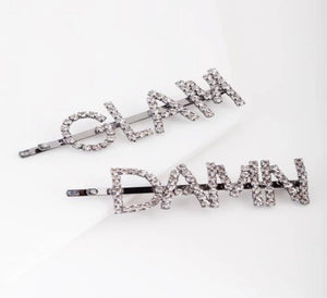 Diamond Cut Hair Clip