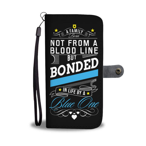 Image of Police Officer - Unique Wallet Phone Case