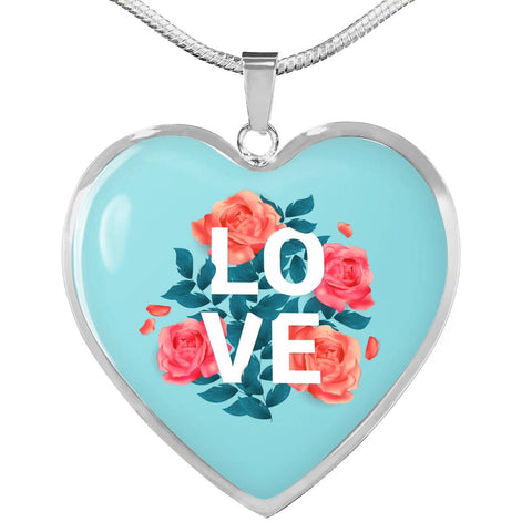 Beautiful Valentine's Day Luxury Necklace For Your Lady - LOVE