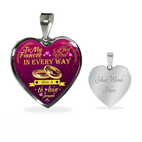 Image of Luxury Necklace For Your Fiancee - Love You In Every Way...
