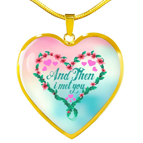 Image of Luxury Necklace For Your Fiancee - And Then I Met You