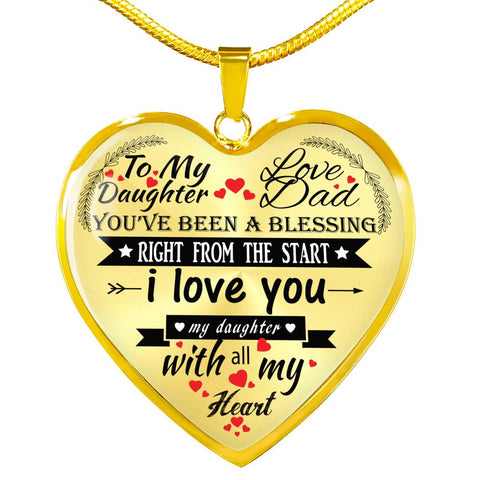 Image of Beautiful Luxury Necklace For Your Daughter