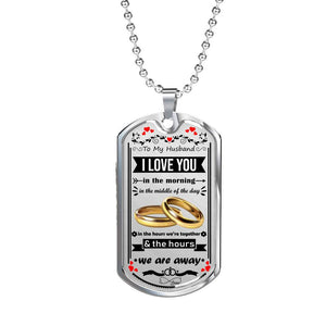 Luxury Military Necklace For Your Husband