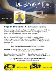 Yoga in the Dark