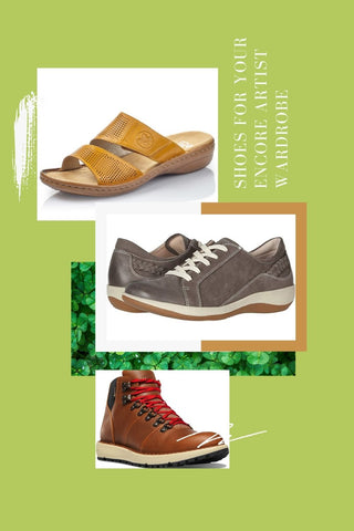 Shoes for your Encore Artist Wardrobe