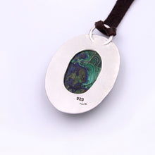Load image into Gallery viewer, Genuine Gemstone Azurite Necklace #3