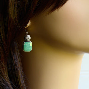 Genuine Gemstone Turquoise Earrings