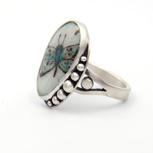 Load image into Gallery viewer, Enamel Butterfly Ring