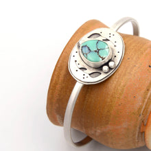 Load image into Gallery viewer, Pothos Desert Bloom Variscite Cuff