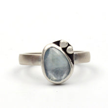 Load image into Gallery viewer, Rivers: Aquamarine Ring