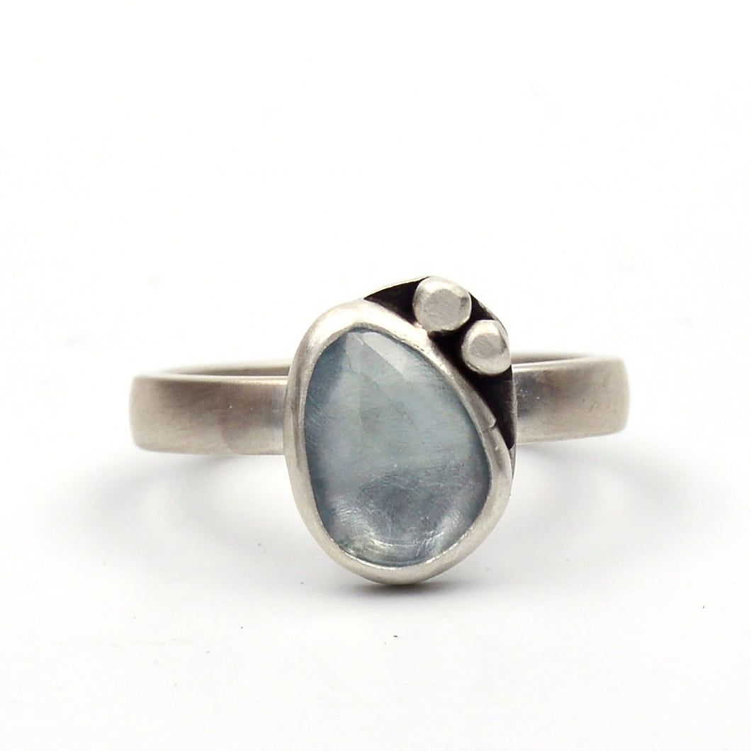 Rivers: Aquamarine Ring