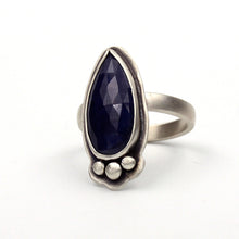 Load image into Gallery viewer, Rivers: Sapphire Ring