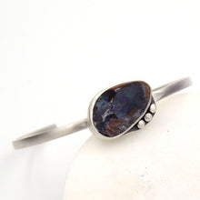 Load image into Gallery viewer, Rivers: Boulder Opal Cuff