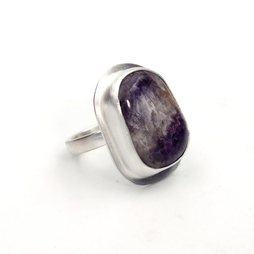 Amethyst Lace Ring - Size 7.25