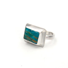 Load image into Gallery viewer, Peruvian Opal Picture Ring - Size 6.5