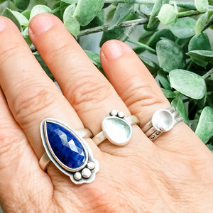 Rivers: Sapphire Ring