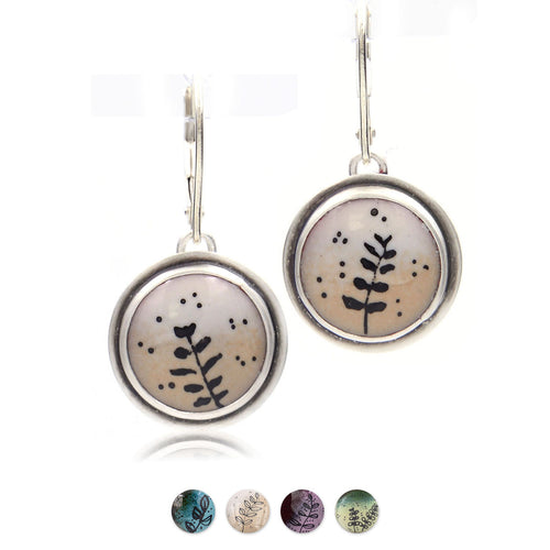 Botanical Sketch Earrings