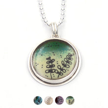 Load image into Gallery viewer, Botanical Sketch Circle Pendant