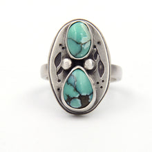 Load image into Gallery viewer, Pothos Desert Bloom Variscite Ring
